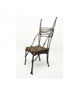 Alfredo Zarazaga Recycling Art Sculpture Chair 1
