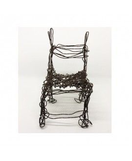 Alfredo Zarazaga Recycling Art Sculpture Chair 3