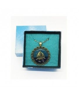 Prospect Creations Upcycling Pendant 10 Sea Boat
