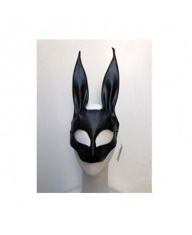 Handmade Original Leather Carnival Mask Rabbit