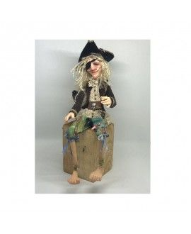 Kaya Handmade polymeric clay Doll Pirate G