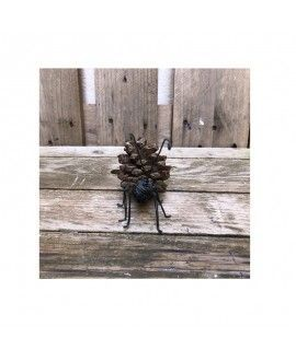 Handmade Pinecone Ant by Marmigas