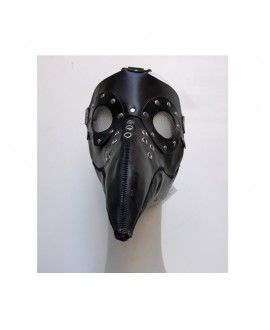 Leather Plague Doctor handmade Mask I02