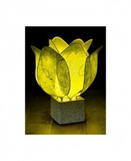 Tulip Lamps handmade with paper