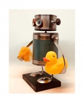 Can Robot with Duckling by Carolata