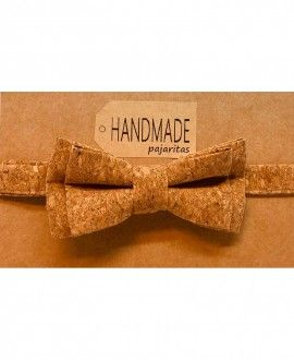Handmade Original Cork Bow Tie