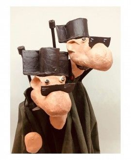 Paper Mache Figures Benemerita by Cartrons
