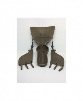 Davila Serra Earrings Mask I02 Contemporary ceramics craft
