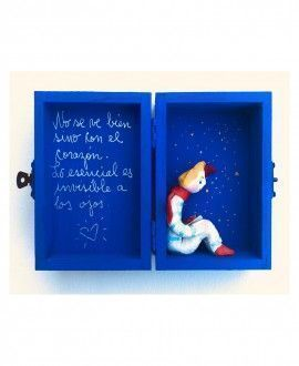 Handmade ceramics Little Prince box
