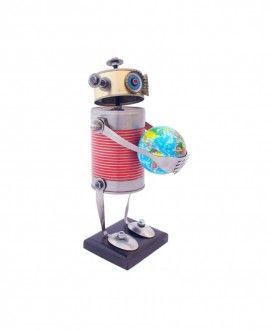 Carolata Tin Can Robot Upcycling