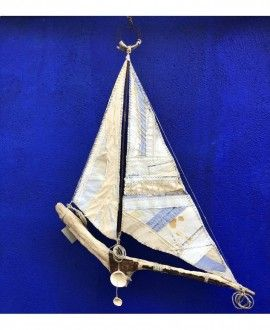 Sailing Boat 71 Upcycling By Artsimans