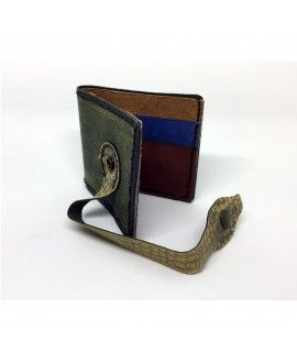 Artsimans Men's Wallet I01 Snakeskin