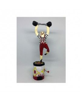 Voilart Music Toy Strongman Paper Mache
