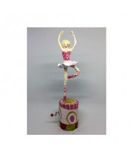 Voilart I08 Paper Mache Music Toy Ballet Dancer
