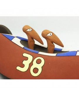 Davila Serra F1 Car 38 Contemporary Ceramics Craft