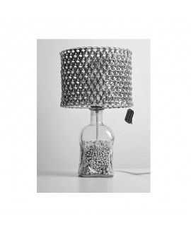 Reciclaje Sostenible Lamp with soda cans