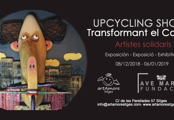 "Exposició ""Upcycling Shoes"" Artistes solidaris"